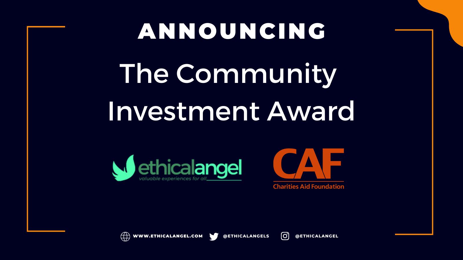Ethical Angel Community Investment Award